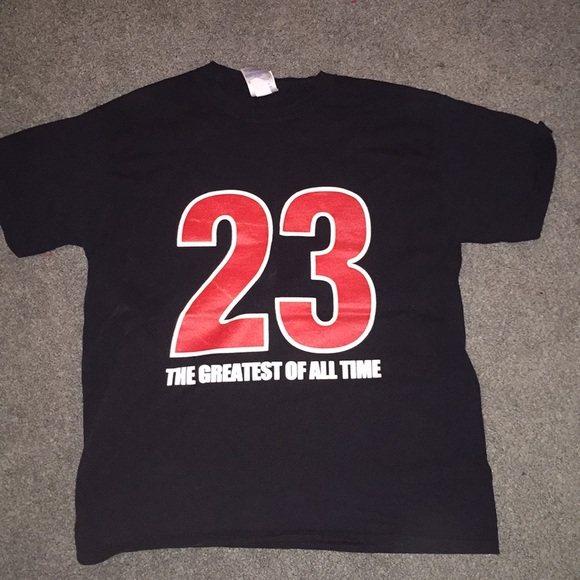 detailed look 801f8 ee64b LeBron James T-Shirt/Jersey (nothing on back)